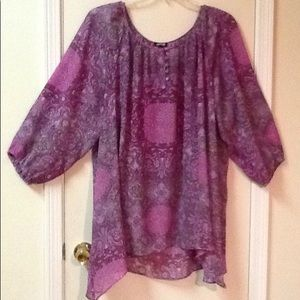Tunic Top with Matching Cami